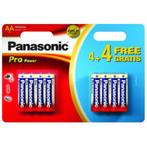 Panasonic Pro Power elem - AA - 4+4db