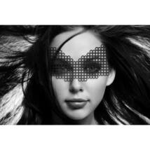 Erika szemmaszk - fekete