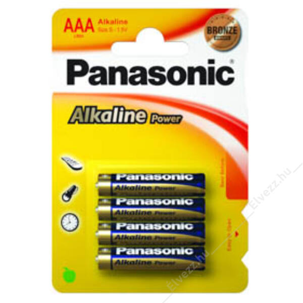 Panasonic Alkaline ceruzaelem - AAA - 4db
