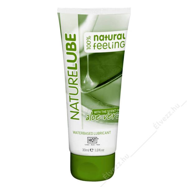 Nature Lube Aloe Vera vízbázisú síkosító - 30ml